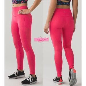 Lulu All The Right Places Pants II Boom Juice Pink